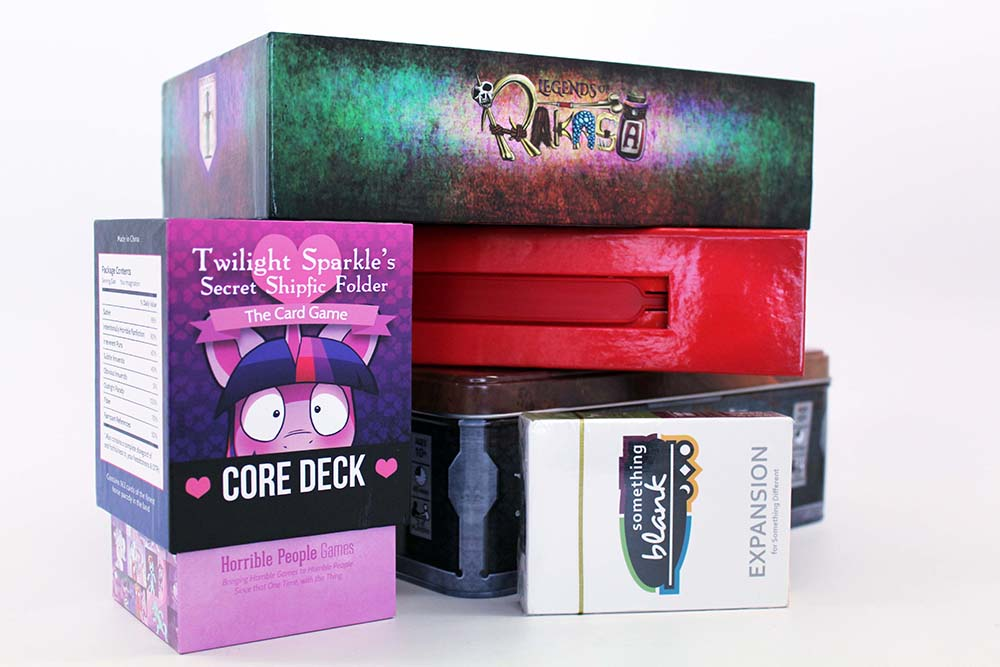 Card and Board Game Packaging Options